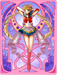Sailor Moon by madelezabeth