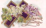 Lilac Easter Greetings by Yesterdays-Paper