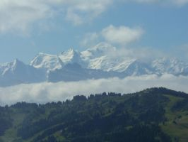 Mont Blanc by mark1624