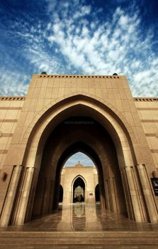 Gate of the Mosque by Funtoon