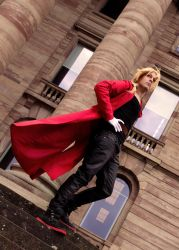 Edward Elric: I just live in a big world. by TokyoStripper