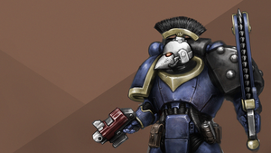 Space Marine by KidneyShake