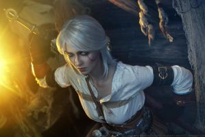 The Witcher 3: Wild Hunt - Cirilla 3 by aKami777