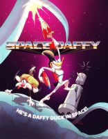 Space Daffy by andrewk