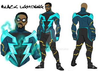 Black Lightning concept by Shy-Green