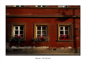 Warsaw - The old town by Stephane-Burlot