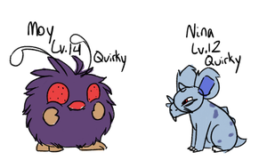 SS Nuzlocke | Pals with quirks by Pandorachi
