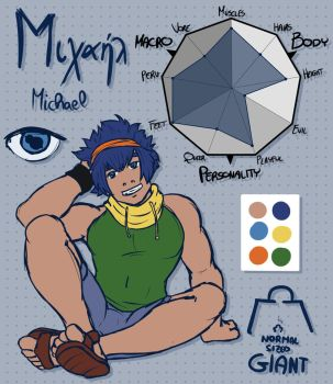 [REFERENCES] Michael by Renarduit