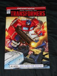 The Transformers - IDW Deviations One-Shot!! by Kaizer617