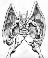 Hawkman sketch by The-Standard