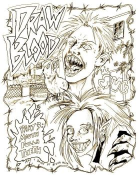 DrawBlood cover3 SKETCH by silvanoir