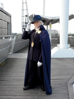 Phantom Stranger Cosplay by Caranth