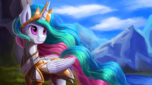 Armored up + Speedpaint by Camyllea