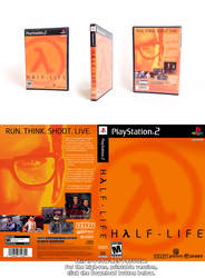 Half-Life PS2 cover redesign by spacecow4