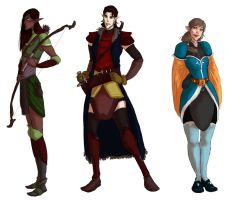 Elf Wardens by ankalime