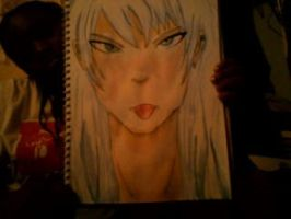 really bad picture of my first watercolourpainting by allergic-to-arsenic