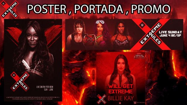 Pack Extreme Rules 1 by BLACKrangers123