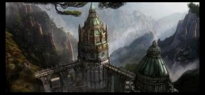Wizards Tower by Joseph-C-Knight