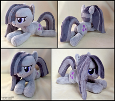 Marble Pie Beanie Plush by SewYouPlushieThings