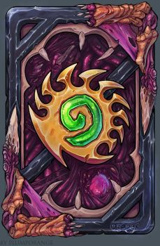 Hearthstone Zergy card back by PlumpOrange