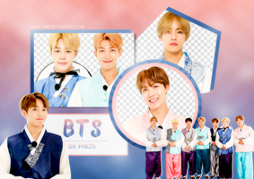 PNG PACK: BTS #26 (Happy Chuseok 2017) by Hallyumi