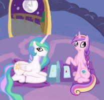 games with Celestia by allanah