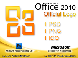 MS Office 2010 Official Logo by Mr-Thien