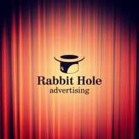 Rabbit Hole Advertising Logo by dippydude