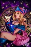 Dark Magician Girl wearing the Puzzle Cosplay by 20Tourniquet02