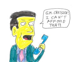 Principal Skinner on the telephone by dth1971