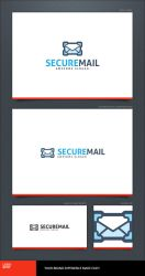 Secure Mail Logo Template by LogoSpot