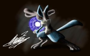 Lucario by NeroTex