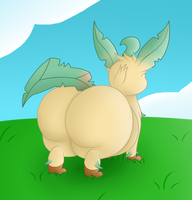 Leaf Butt by Dullpoint