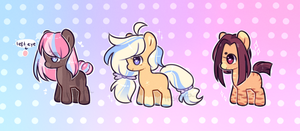 -OPEN, Set Prices- Pony Adopts by lnspira