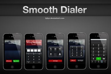 Smooth Dialer For iPhone by Tjdyo