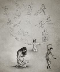 Daily Practice 01 26 2014, Figures by Eclectixx