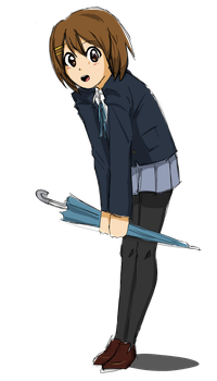 K-ON: Yui by thelifeofabinder