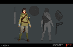 Chronos Main Character Female by Skiorh