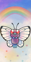 Butterfree by Paleona