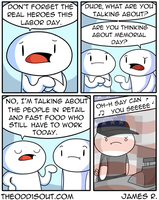 Labor Day by theodd1soutcomic
