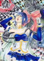 ACEO: The loss of Sayaka Miki by IvoryPeony