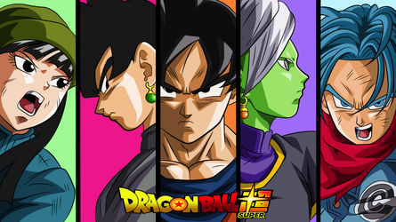 Dragon Ball Super Cover by Unk-Nown