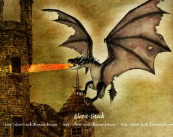 E-S Dragon Hungarian horn tail by Elevit-Stock