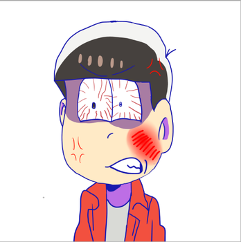 Osomatsu 24 Ep Alt Version He Going Mad by isidoragames25