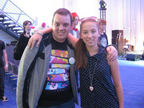 Meeting Michelle Creber by Pokelord-EX