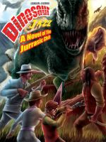 Dinosaur Jazz novel cover by goweliang