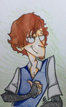 Drawing #6- Marco Rossetti by AskAlicebird