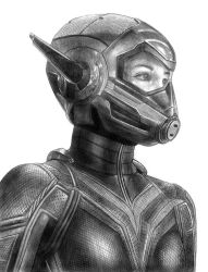 Wasp (Antman and the Wasp) by SoulStryder210
