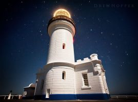 Starry Cape Sky by DrewHopper