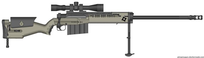 J127 Sniper rifle by GunFreakFin
